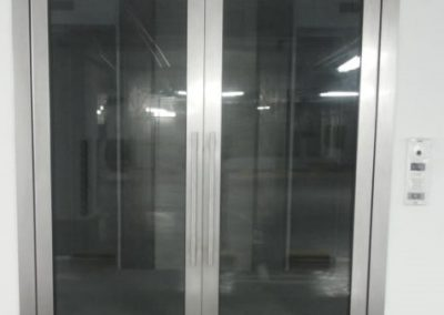 equal leaf swing door