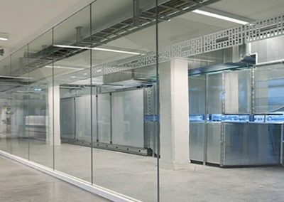 frameless Fixed Glass Panel