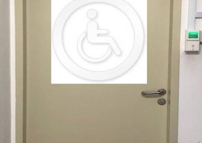 auto swing door for handicap toilet